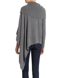 Nicholas K - Gray Kuma Cottoncashmere Sweater - Lyst