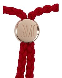 Monica Vinader - Pink Fiji Luck 18Kt Rose Gold-Plated Bracelet - Lyst