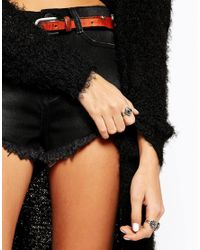 ASOS - Blue Eye Ring - Lyst