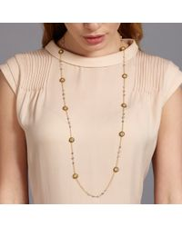 Miguel Ases - Metallic Exclusive Pyrite Necklace - Lyst