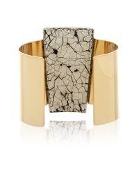 Isabel Marant - Metallic Gold-plated Resin Cuff - Lyst