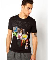 Elvis Jesus - Black Tshirt Afritain for Men - Lyst
