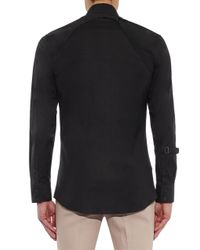 Alexander McQueen | Black Harness Cotton-blend Shirt for Men | Lyst