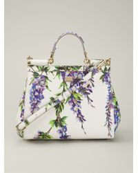 Dolce & Gabbana - Multicolor Large 'Sicily' Tote - Lyst