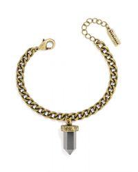 BaubleBar - Gray Mini Quartz Bracelet - Lyst