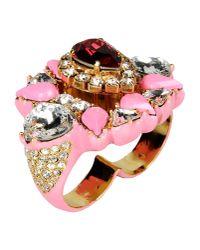 Shourouk - Metallic Ring - Lyst