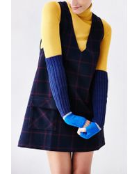 Urban Outfitters - Blue Sport Colorblock Armwarmer - Lyst
