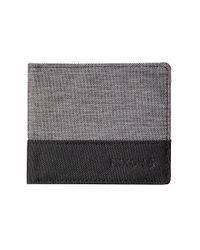 Nixon | Gray The Atlas Nylon Bi-Fold Wallet | Lyst