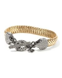 Banana Republic - Metallic Wink Toggle Bracelet - Lyst