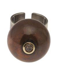 Beth Orduna | Brown Ball Ring | Lyst