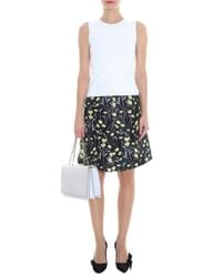 Giambattista Valli - Black Daisy Skirt - Lyst