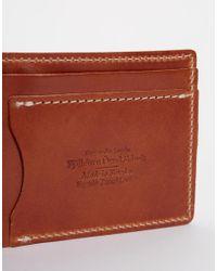 Fjallraven - Brown Ovik Leather Billfold Wallet for Men - Lyst