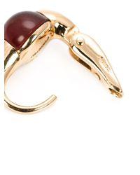 Pomellato | Red 18kt Rose Gold Garnet Drop Earrings | Lyst