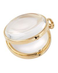 Loquet London - Metallic 14K Gold Large Round Locket - Lyst