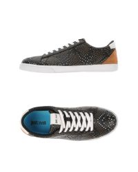 Just Cavalli | Black Low-tops & Trainers for Men | Lyst