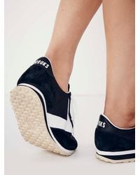 Free People - Black Van Gaurd Sneaker - Lyst