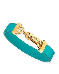 Marc By Marc Jacobs | Green Simple Leather Bracelet | Lyst