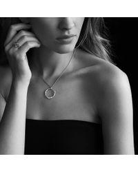 David Yurman - Confetti Threerow Ring with Blue Topaz Iolite and Diamonds - Lyst