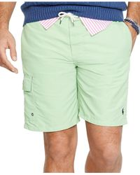 Polo Ralph Lauren - Green Big And Tall Kailua Swim Trunk for Men - Lyst