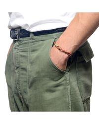 Lulu Frost | Brown G. Frost Double Strand Harpoon Bracelet - Rust for Men | Lyst