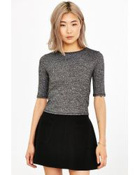 Silence + Noise - Gray Delaney Classic Top - Lyst