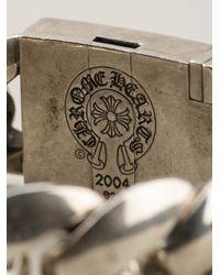 Chrome Hearts | Metallic Rolo Chain Rosette Bracelet | Lyst