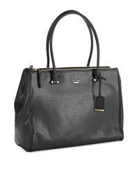 kate spade new york | Black Cedar Street Patent Reena Bag | Lyst