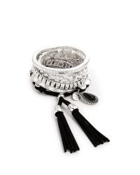 Samantha Wills | Metallic Midnight Rendezvous Bracelet Set - Shiny Silver | Lyst