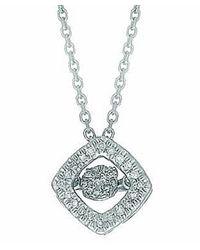 Tia Collections - Metallic 0.10ct. Dancing Diamond Pendant-14kt - Lyst