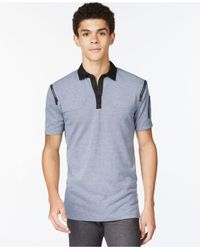 Sean John | Blue Flight Polo for Men | Lyst