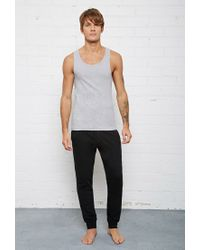 Forever 21 | Gray Bread And Boxers Ribbed Tank for Men | Lyst