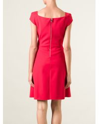 Pinko - Red Nerina Dress - Lyst