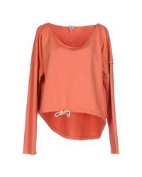 Clark Jeans - Orange Sweatshirt - Lyst
