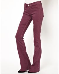 M.i.h Jeans | Purple Skinny Marrakesh Flared Jean in Violet | Lyst