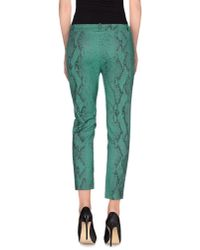 Pinko - Green Casual Trouser - Lyst