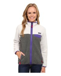 Patagonia | Metallic Full-zip Snap-t Jacket | Lyst