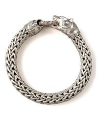 John Hardy | Metallic Macan Tiger Bracelet for Men | Lyst
