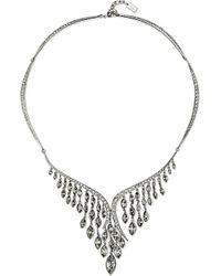 Atelier Swarovski - Black Swift Swarovski-crystal Embellished Large Necklace - Lyst