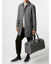 TOPMAN - Gray Grey Nylon Gym Bag for Men - Lyst
