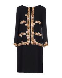 Boutique Moschino - White Short Dress - Lyst