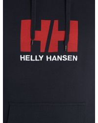 Helly Hansen - Blue Hh Graphic Crew Neck Hoodie for Men - Lyst