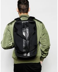 ASOS - Hybrid Holdall Backpack In Black - Lyst