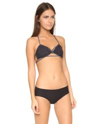 Free People | Black Fpx Valentina Bralette - Charcoal | Lyst