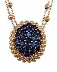 Pasquale Bruni - Blue Brunissimi 18k Rose-gold Pendant Necklace - Lyst