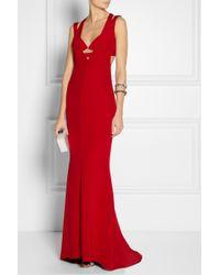Cushnie et Ochs - Red Carly Silk Crepe Gown - Lyst