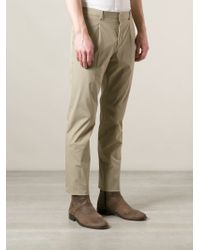 Valentino - Natural Classic Chinos for Men - Lyst