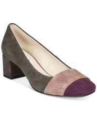 Clarks | Gray Artisan Women's Chinaberry Sky Pumps | Lyst