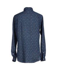 Roy Rogers - Blue Shirt for Men - Lyst