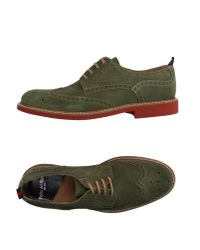 Pedro Del Hierro Madrid - Green Lace-up Shoes for Men - Lyst