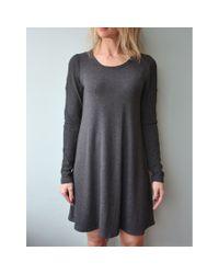 LNA | Gray Lucia Dress | Lyst